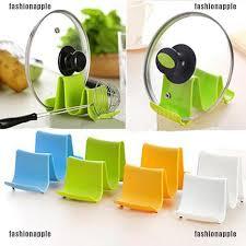 <b>1Pcs</b> Wave <b>Pot Pan Spoon</b> Lid Storage Stand Holder Rack | Shopee ...