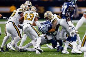 Saints beat the Cowboys, 12-10, hand Dallas its first loss - The ...