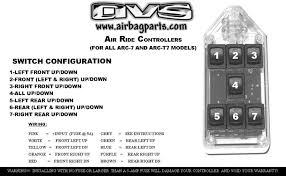 black 7 switch series rocker avs >>>click here for switch configuration<<<