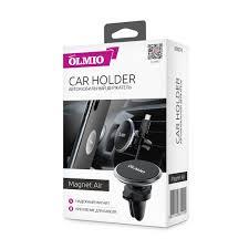 Автомобильный <b>держатель Magnet Air</b>, <b>OLMIO</b> для смартфонов