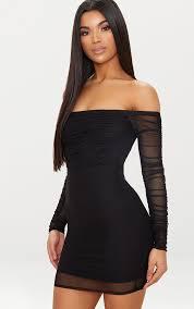 Black Dresses | Little Black Dresses | <b>Sexy Dress</b> | PrettyLittleThing