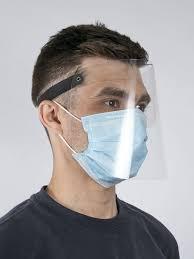 <b>Защитный экран для</b> лица/ щиток лицевой/ строительный ...