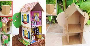 Mobili Per La Casa Delle Bambole : Casa delle bambole in cartone foto nanopress donna