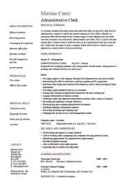 ideas about clerical jobs on pinterest   sales jobs    administrative clerk resume  clerical  sample  template  job description  clerical duties