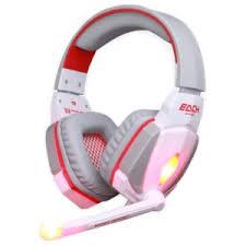 Buy <b>Kotion Each G2000</b> USB White/Red - Gaming Headset ...