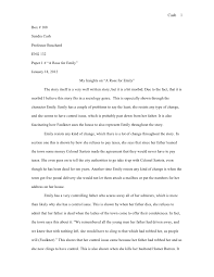 critical emily essay rose ltlt college paper help critical emily essay rose