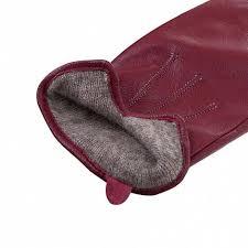 <b>Перчатки</b> Passo Avanti бордовый <b>натуральная кожа</b>, артикул 501 ...