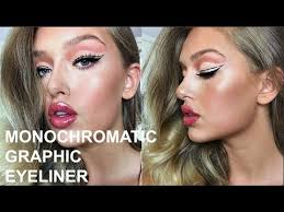 Greece Footage + Monochromatic Graphic <b>Eyeliner</b> Ft. <b>Smashbox</b> ...