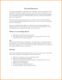 personal statement sample residency case statement  5 personal statement sample residency