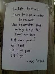may sarton quotes | Tumblr via Relatably.com