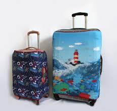 Suitcase covers | Производство по печати на ткани, дизайн ...