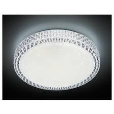 управляемый потолочный светильник ambrella f101 cl 48w d400 orbital