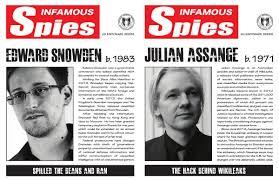 Edward Snowden and <b>Julian Assange</b> feature in US Defense ...