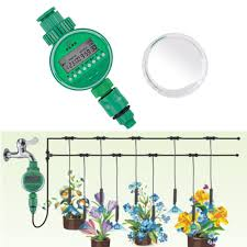 Free Shipping <b>Electronic LCD</b> Garden Water Timer Irrigation System ...