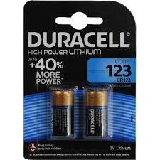 <b>Батарейка CR123A Duracell</b> CR123A-2 2 шт. — купить, цена и ...