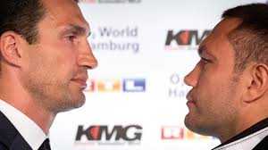 Cs�szik a Klitschko vs. Pulev m�rk�z�s