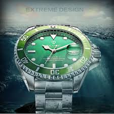 <b>Tevise Luxury</b> Waterproof Automatic Men Mechanical Watch Auto ...