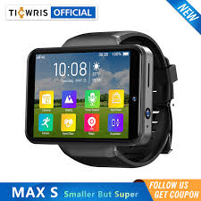 "<b>Ticwris Max S</b> 4G Android Smart Watch For Men 2.4"" Display Face ..."