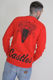 Лонгслив <b>CROOKS &</b> CASTLES <b>Crooks</b> Essential L/S Tee Red ...