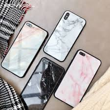 marble tempered glass case for oppo a3s a5 a7 f9 f7 f5 phone cases on realme 3 f11 pro reno z 10x zoom cover coque
