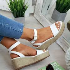 <b>DIHOPE</b> Sommer Platform <b>Sandals</b> 2020 Fashion <b>Women</b> Strap ...