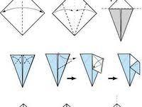 Лучших изображений доски «Оригами,поделки,аппликации»: 67 ...