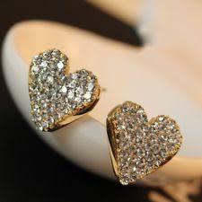 Alloy Crystal Stud <b>Love</b> & <b>Hearts Fashion</b> Earrings for sale | eBay