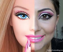 barbie make up style 6