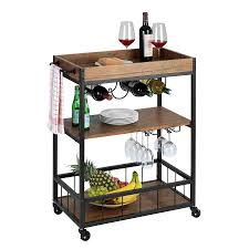Wenko <b>Kitchen Trolley</b> Rustico - BigMat