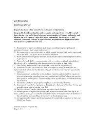care resume job resume sample child  seangarrette cochild care job description resume teacher   care
