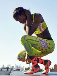 Jeneil Williams for Nike <b>Sparkling</b> Sunburst | <b>Yoga</b> workout clothes ...