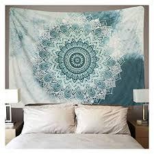 Dremisland <b>Mandala</b> Wall Tapestry <b>Flower Wall</b> Hanging <b>Bohemian</b> ...