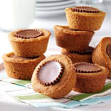 bake recipes taste of home peanut butter cookie cups