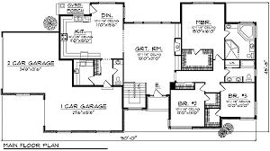 Ranch   Large Great Room Windows   AH   st Floor Master    Floor Plan