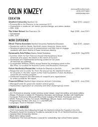 resume colin kimzey bio middot resume