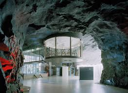 photo wwwemliicom white mountain office in stockholm home to an internet service provider is built 100 feet underground amazing office space set