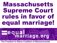 「Same-sex marriage in Massachusetts」の画像検索結果