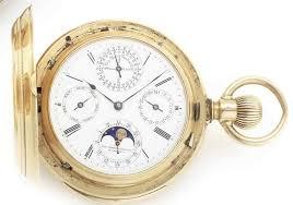 Non Magnetic Watch Company of America. An 18ct gold ... - Bonhams