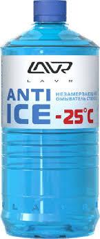 """<b>Незамерзающий омыватель стекол LAVR</b> """"Anti-ice"""", -25 C, 1 л ..."""