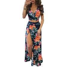 <b>YJSFG HOUSE</b> Elegant <b>Women</b> Summer Long Maxi Dresses Two ...