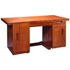 ren herbst walnut front casing desk art deco replica furniture