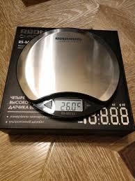 Обзор от покупателя на <b>Весы кухонные REDMOND</b> RS-M711 ...