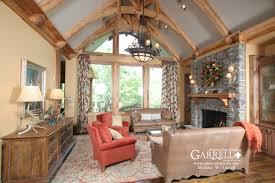 Harmony Mountain Cottage House Plan   House Plans by Garrell    Interior Photos