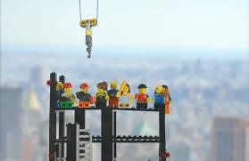 lego new york city men at work building manhattan skyscraper lego new york city men at work building manhattan skyscraper
