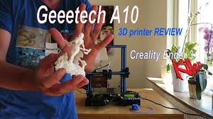 Geeetech <b>A10 3D Printer</b> REVIEW - Creality Ender 3 KILLER ...