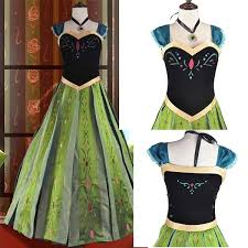 <b>Snow Queen</b> Anna Dress <b>Adult</b> Halloween <b>Princess</b> Anna ...