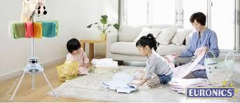 Máy sấy quần áo Holtashi mang nhiều tiện ích