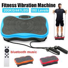<b>200KG</b>/<b>441lb Exercise Fitness Slim</b> Vibration Machine 180 Levels ...