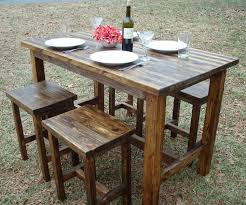 wicker bar height dining table: outdoor bar wicker bar table wine rack intended for wicker outdoor
