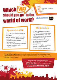 resources to support skills employment in gloucestershire which way should you go to the world of work